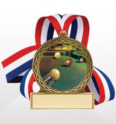 Billiards Medals