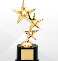 Black Acrylic All Star Trophy