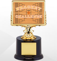 Basketball Bracket Trophies