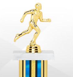 Brilliant Blue Trophies