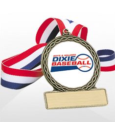 Dixie Youth Baseball Trophies