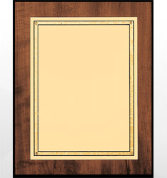 Gold Plate Plaques