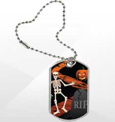 Halloween Tags & Ribbons