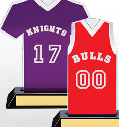 Basketball Team Name/Number Jerseys