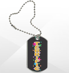 Sport/Dog Tags with Key Chain