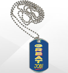 Sport/Dog Tags with Neck Chain