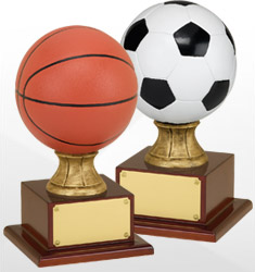 Official-Size Sport Trophies