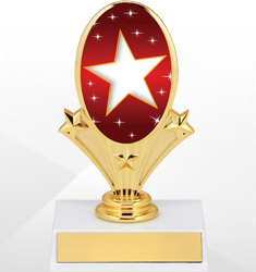 Oval Riser Trophies