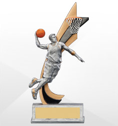 Action Resin Sport Trophies