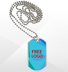 Free Logo Sport/Dog Tags