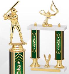 2015 Green California Series Trophies
