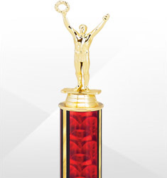 Extra Value Red and Gold Trophies
