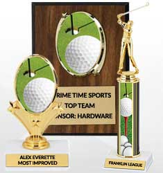 Golf Team Awards