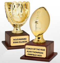 Sports Ball Trophies