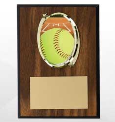 Softball Plaques