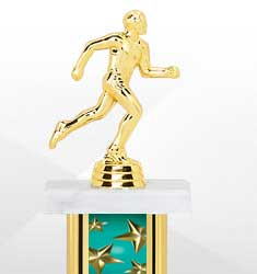 Teal Star Trophies