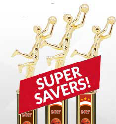 2017 Basketball Saver Trophy Deals