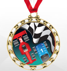 Pinewood Derby Medals