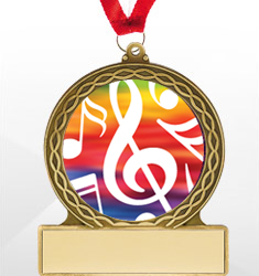 Music Medals & Tags