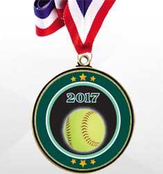 Super Saver Softball Medal Deals