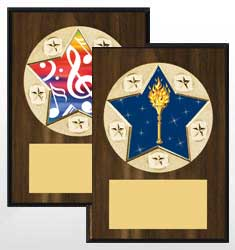 NEW! Star Plaque Series