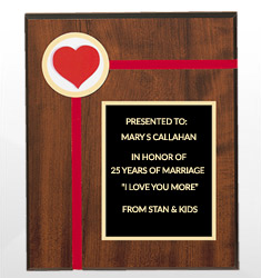 Valentine's Day Plaques