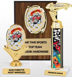 Pinewood Derby Team Awards
