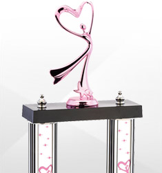 Dazzling Pink Trophies