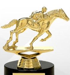 Race Horse Trophies