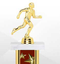 Maroon Star Trophies