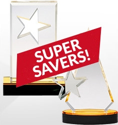 Super Saver Acrylic Awards - Under $50