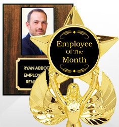 Employee Of The Month Trophies