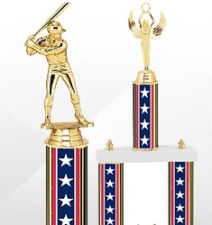 Red, White and Blue Trophies