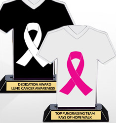 Awareness Ribbon Trophies