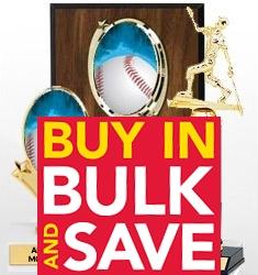 Bulk Baseball Awards - Lowest Wholesale Price - Bulk Pricing
