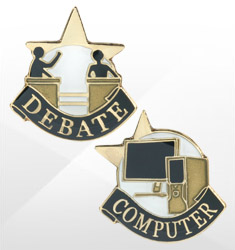 Educational Recognition Pins