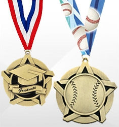 Sport and Academic Bright Star Medals