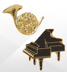 Musical Instrument Pins