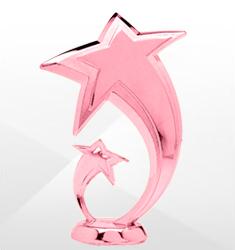 Pink Trophy Figures