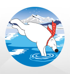 Polar Bear Plunge Emblems