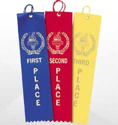 Preprinted Prize Ribbons