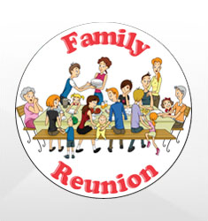 Family Reunion Emblems