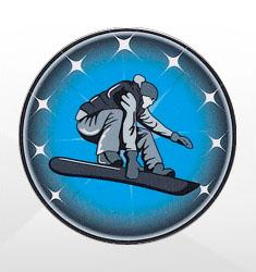 Snowboarding Emblems
