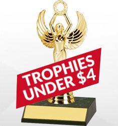 Trophies Under $4