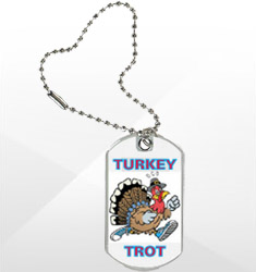 Thanksgiving Dog Tags/Medals