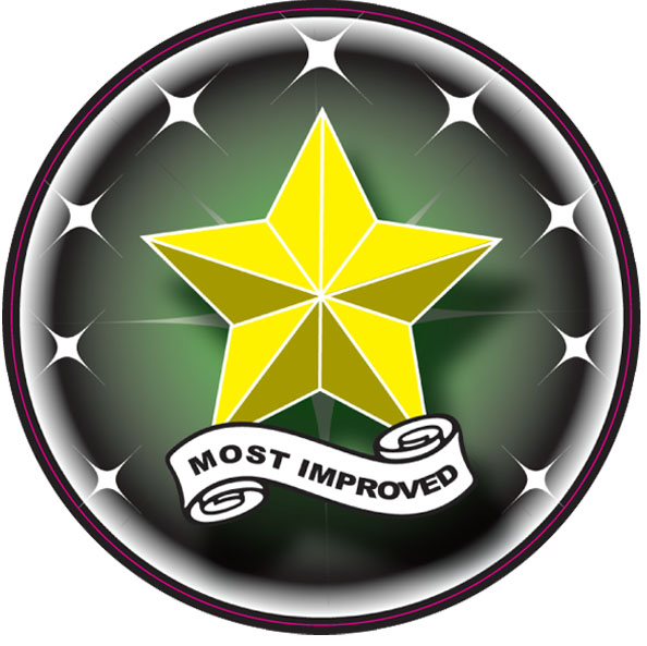 Most Improved Emblem