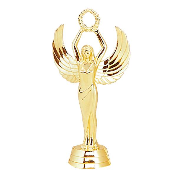 Female Achievement Gold Trophy Figure
