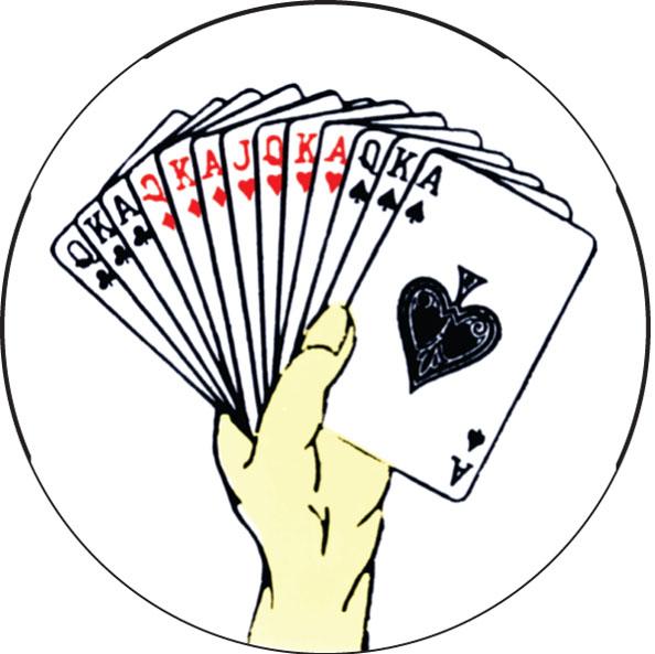 Bridge Hand Emblem