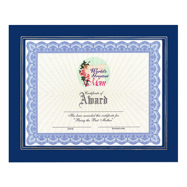 World's GreatestMom Certificate with Frame