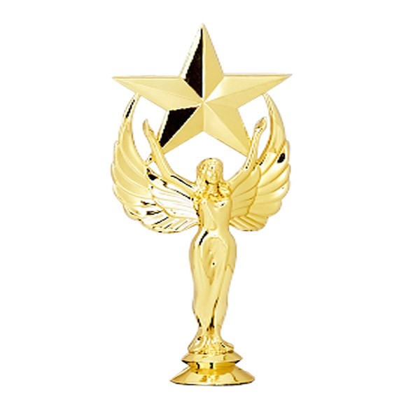 gold achievement star trophy figures trophies dinn trophy